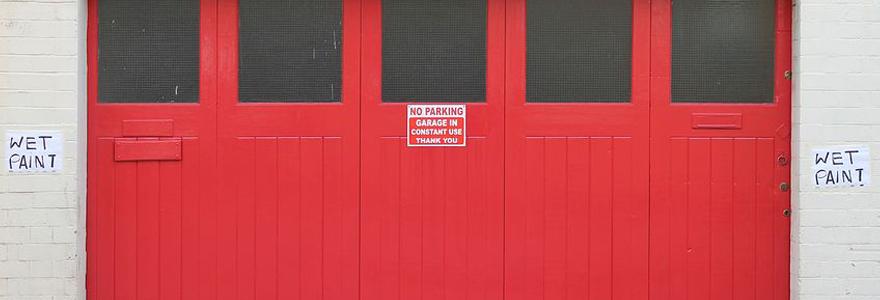 dépannage de porte de garage
