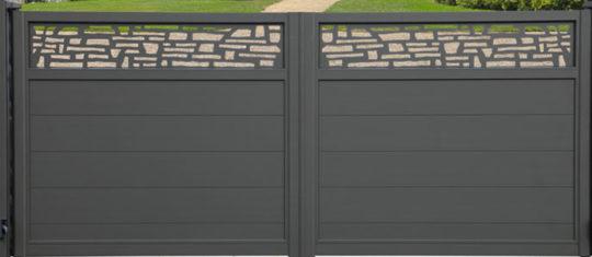 Choisir un portail en aluminium