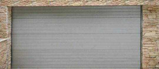 portes de garage en aluminium